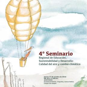 """Seminario MMA RM - CDA UC """"Calidad del aire y cambio climático"""""""