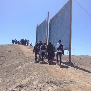 Alumnos de la región de Tarapacá trasladaron el aula a pleno desierto