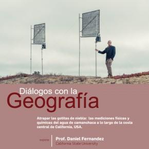 Diálogos con la Geografía: charla prof. Daniel Fernandez