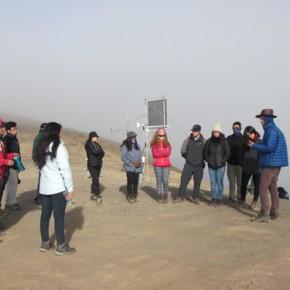 Estudiantes de pregrado participaron de terreno en Alto Patache